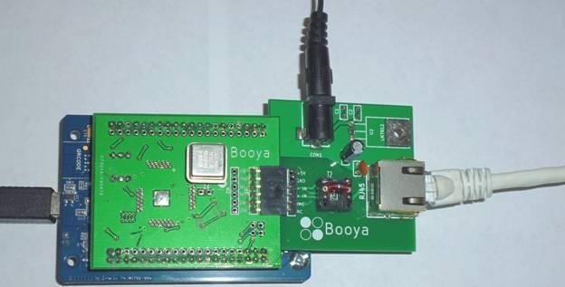 Booya SDR Radio Receiver Description The Booya SDR radio